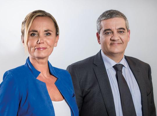 Steven Vandeput en Liesbeth Homans